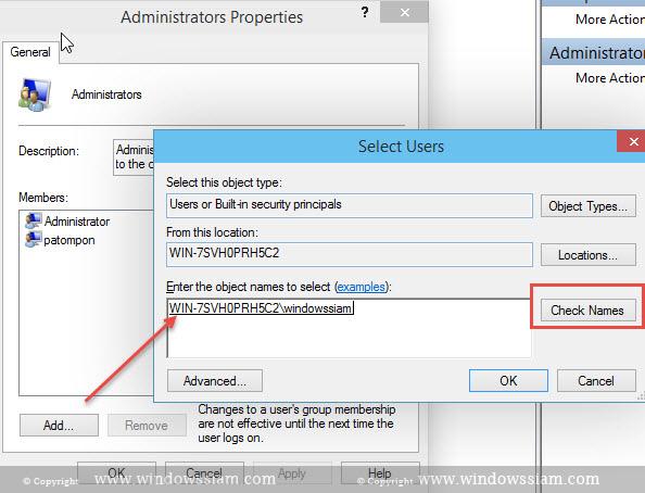 Add User Admin Windows 10-GroupAdmin