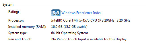 Windows X64 and Windows X86 - Windows7- CPU