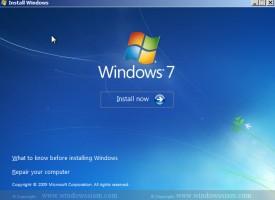 สอนการลง Windows 7 ละเอียดทุกขั้นตอน