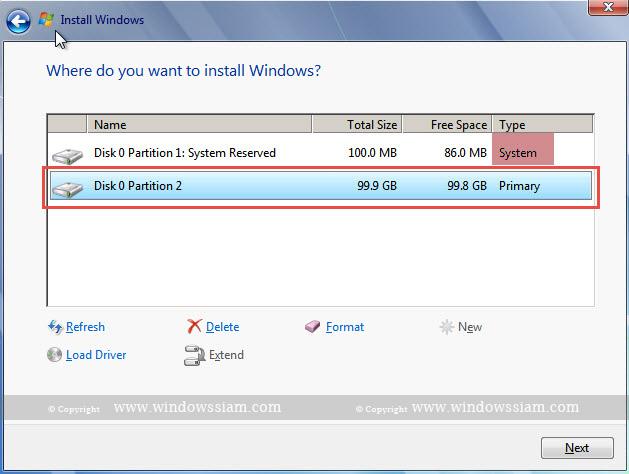 install Windows 7 install windows