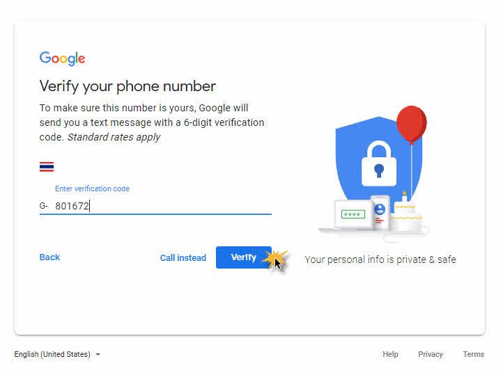 สมัคร Gmail ใหม่-4