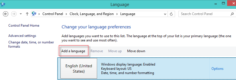 Add Thai Language Windows8-5