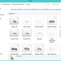 วิธีการติดตั้ง Font สำหรับ Windows 7 , Windows 8.1 และ Windows 10