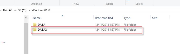 Hidden folders Windows-1