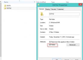 วิธีการซ่อน Folders ใน Windows 10
