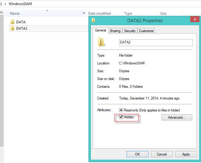 Hidden folders Windows-3