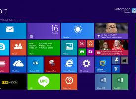 วิธีการปรับขนาด Size ของ Apps ต่างๆใน Windows 8 / Windows 8.1
