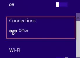 การSetup VPN Windows 8.1