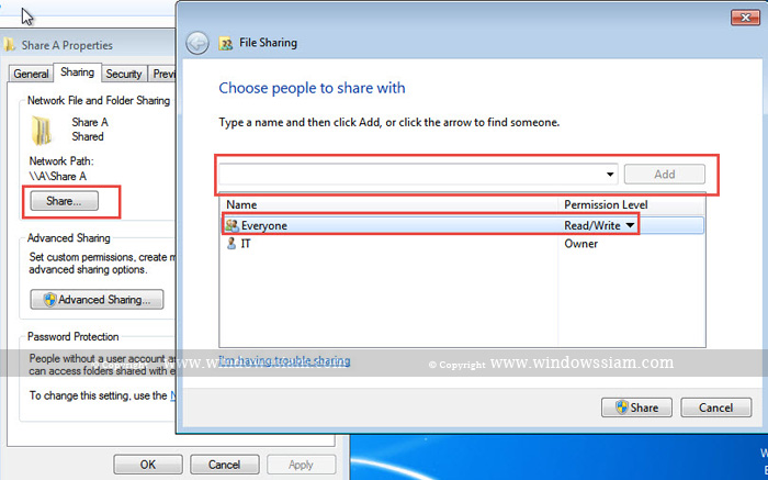 Share File Windows 7-14