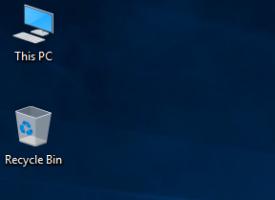 เอา This PC มาไว้ในหน้า Desktop Windows 10