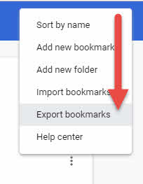 Bookmarks GoogleChrome-4