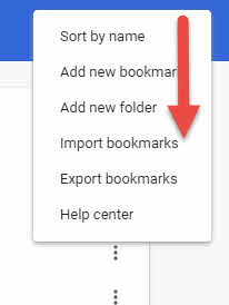 Bookmarks GoogleChrome-5