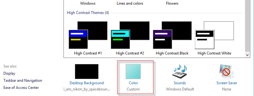 Change Color Taskbar Windows-2