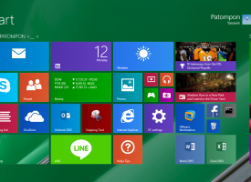 ปรับเปลี่ยน Modern UI Desktop Background Windows