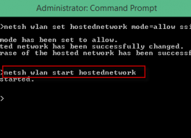 วิธีการแชร์อินเตอร์เน็ต Wifi จากโน๊ตบุ๊ค Windows 10 / 8.1 / 7