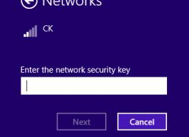 จัดการเชื่อมต่อ Wireless Windows 8.1
