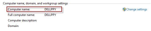 Change Computer name Windows-2