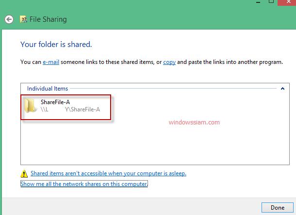 Share File Windows 7-Windows8-Windows10-9
