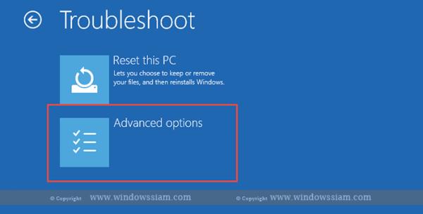 System Restore - Windows 10 advance
