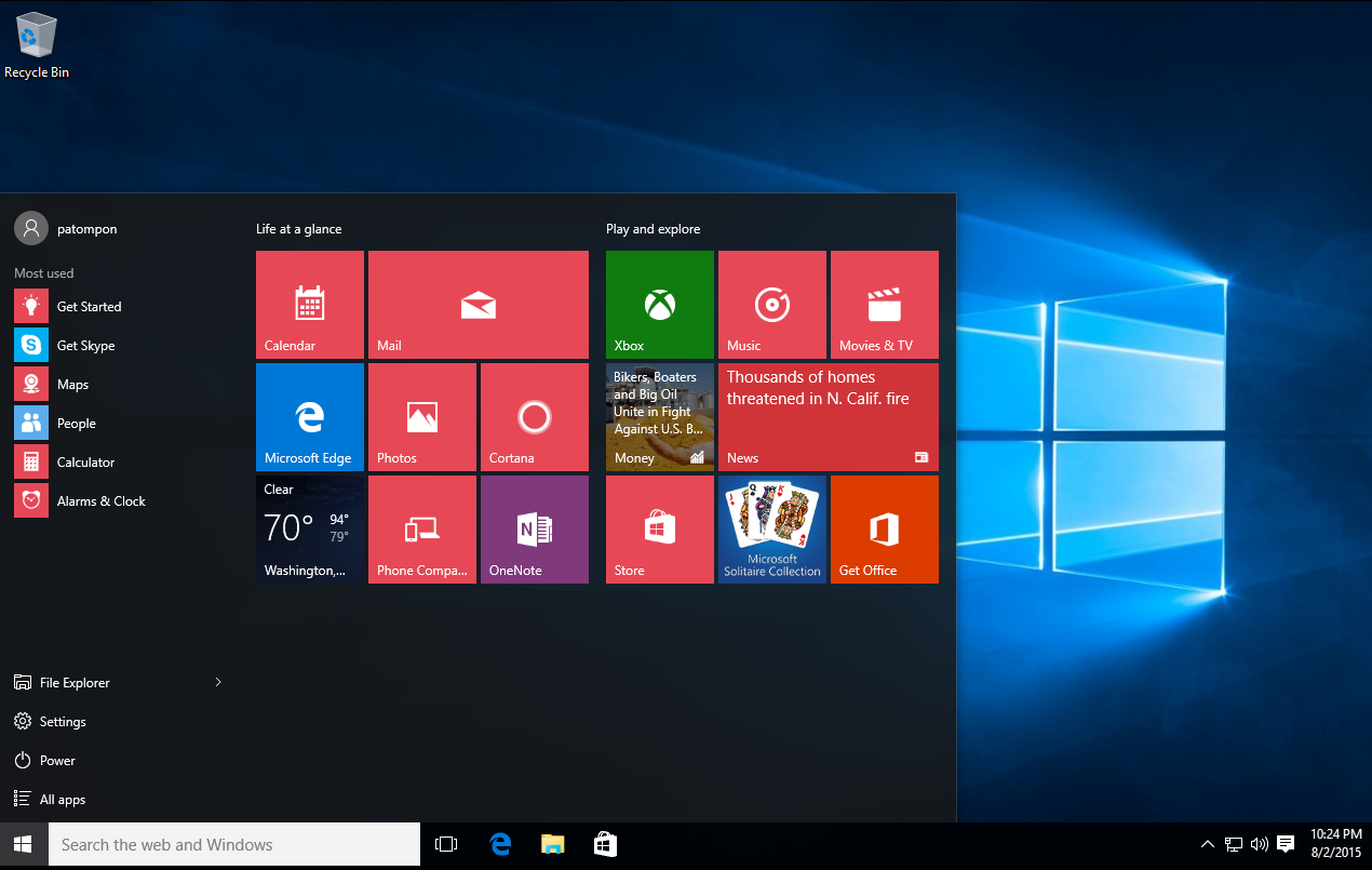 how to change color of start menu windows 10