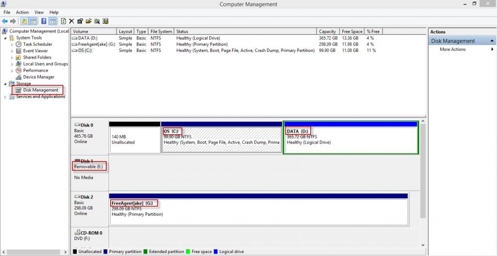 Change Drive Windows-2