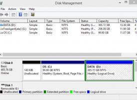การปรับ Drive ของ Windows 7 , Windows 8.1 และ Windows 10