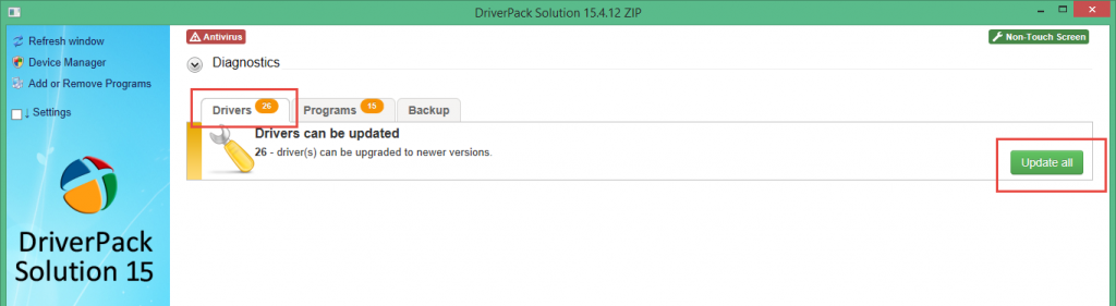 DriversPack_Solution