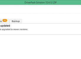 โปรแกรมหา DriverPack Solution ให้กับ Windows