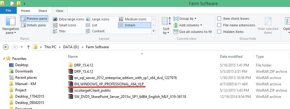 File Type-Windows