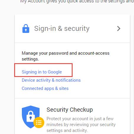 Change Password Gmail-3