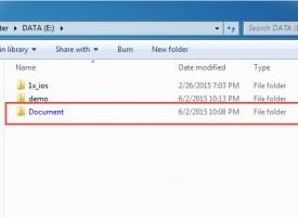 การแก้ไข Folders , file เป็นตัวหนังสือสีน้ำเงิน