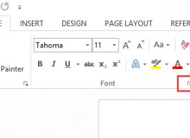 การตั้งค่าฟอนต์ให้เป็น Template ของเอกสาร Microsoft Word