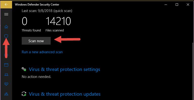 แอนตี้ไวรัส Windows 10-2