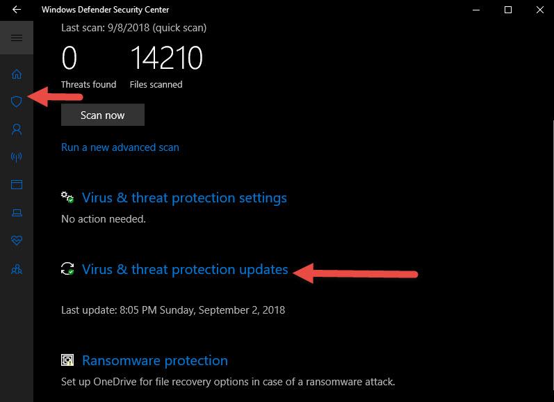 แอนตี้ไวรัส Windows 10-4