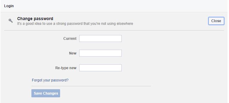 เปลี่ยนรหัสผ่าน Facebook -3