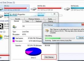 ลบไฟล์ขยะ Disk Cleanup Windows 7