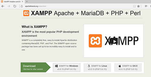 วิธีการติดตั้ง XAMPP จำลอง WebServer | WINDOWSSIAM