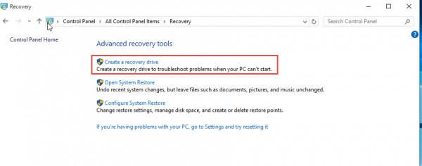Recovery-Drive-Windows10-Create