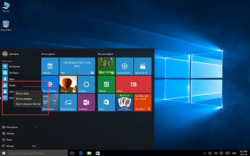 Start-Menu-Windows10-PinApps