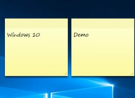 กระดาษ Sticky Notes Windows 10