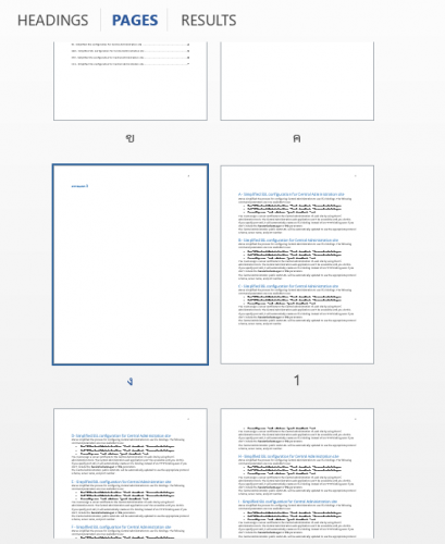 Page Number Microsoft Word step10