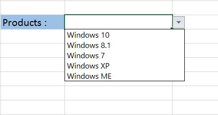 drop-down list Microsoft Excel 2013-7