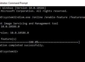 การติดตั้ง .Net Framework 3.5 ใน Windows 10