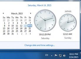 เพิ่มนาฬิกาประเทศต่างๆใน Windows