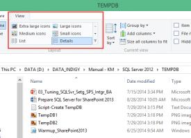 วิธีการปรับ Views Folders ใน Windows 8.1