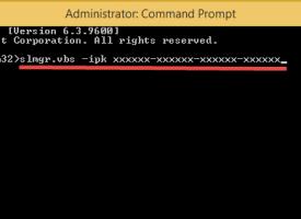 สอนวิธีการเปลี่ยน Product key Windows 8.1