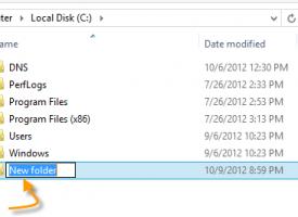 การสร้าง การคัดลอก การตัด Folder ใน Windows