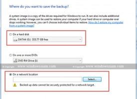 Backup Windows 7 ก่อนที่จะมีปัญหา