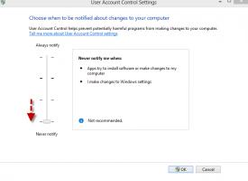วิธีการปิด UAC Windows 8.1 สำหรับการแจ้งเตือน