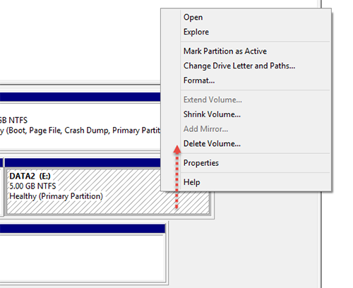 Extend-Volume Windows Disk Step4
